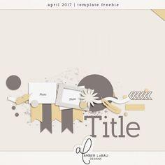 April Template Challenge – Amber LaBau Designs