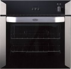 Belling Built-in Gas Single Oven with Electric Grill Built In Gas Ovens, Single Oven, Rotary, Kitchen Remodel, Kitchen Appliances, Stainless Steel, Cooking, Building, Electric