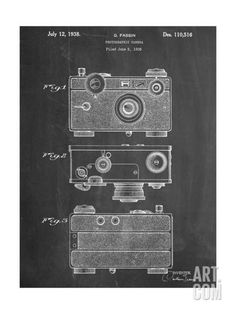Fassin Photographic Camera Patent