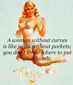 A woman without curves
