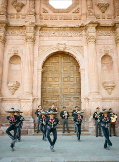 Mariachi band at Quinta Real Hotel, Mexico; Aaron Delesie photo