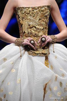 China Fashion, China Fashion Week, China Models, Guo Pei @<3