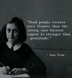 Dead people receive more flowers than