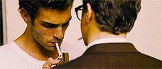 Jon Kortajarena and Colin Firth in A Single Man (2009), dir. Tom Ford