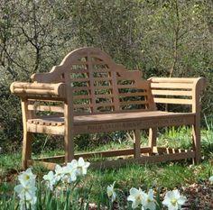 Lutyens Teak Bench Long 1 5 M Style Garden