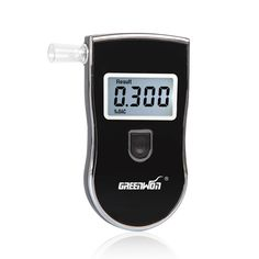 2016 new Patent Russian Manual digital alcohol tester--Patent AT818S update version with 5 mouthpieces hide in  Free Shipping