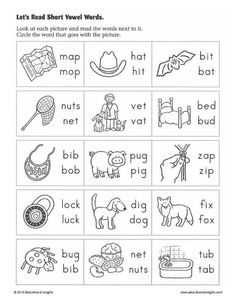 Kindergarten learning to read worksheets kindergarten reading worksheets fi Short I Worksheets, English Worksheets For Kindergarten, Vowel Worksheets, Literacy Worksheets, Kindergarten Reading, Kindergarten Phonics, Printable Worksheets, Dinosaur Worksheets, Alphabet Worksheets