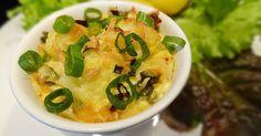 Zapékaný květák se slaninou, sýrem a jarní cibulkou Fast Dinners, Cheeseburger Chowder, Hummus, Thai Red Curry, Pizza, Soup, Ethnic Recipes, Soups