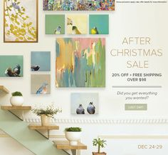 Did you get everything you wanted for Christmas? Shop our After Christmas Sale and save 20% off everything plus get free shipping when you spend over $98. Shop now!