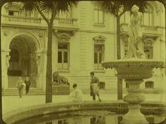 Enterreno - Fotos históricas de chile - fotos antiguas de Chile - Palacio Cousiño-Goyenechea de Lota en 1925 South America, In This Moment, Painting, Art, Historical Photos, Antique Photos, Palaces, Scenery, Fotografia