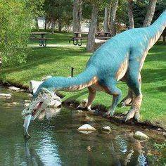 Ogden Dinosaur Park. One of my favorite childhood memories.