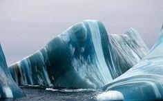 Blog Medioambiente.org : Icebergs de colores
