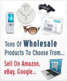Free access to wholesale products to sell on Ebay, Amazon & Google dropshipped to your buyer.