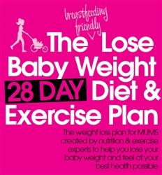 The Lose Baby Weight Diet and Exercise Plan Ebook   Stay at Home Mum #SAHM #exercise #health #weightloss @Karen Jacot Jacot Jacot Jacot Zeigler Baby Weight