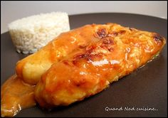 Quenelles de saumon maison, sauce aurore - Quand Nad cuisine...