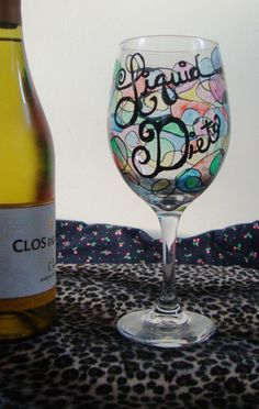 The Ultimate Liquid Diet Oversize White Wine Glass by LikeahFish