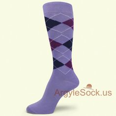 59cd268fc94d People also love these ideas. USH744: LAVENDER NEON LIGHT PINK WHITE  BEAUTIFUL ARGYLE SOCK FOR MAN ...