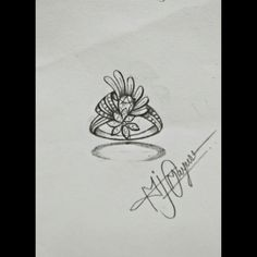 Gold Designs, Ring Designs, Ring Design For Female, Fashion Rings, Women's Fashion, Jewelry Rings, Fine Jewelry, Jewelry Design Drawing, Jewellery Sketches