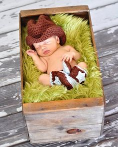 Hey, I found this really awesome Etsy listing at https://www.etsy.com/listing/182649705/newborn-cowboy-hat-and-boots