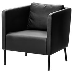 IKEA - EKERÖ, Chair, , The cover is easy to keep clean as it can be wiped clean with a damp cloth.The back cushion can be moved around to fit your sitting style.10-year limited warrranty. Read about the terms in the limited warranty brochure.