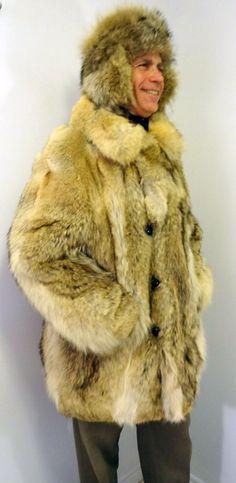 Men's coat  https://www.etsy.com/listing/210041975/mens-real-coyote-wolf-fox-fur-jacket @navyhoop