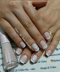 Unha francesinha decorada – passo a passo Pretty Nail Designs, Nail Art Designs, Wonder Nails, Wedding Pins, Manicure And Pedicure, Toe Nails, Summer Nails, Pretty Nails, Nail Colors