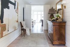 Dana Wolter Interiors- Five Ways To Create An Inviting Foyer #williammclureart