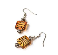 CHRISTMAS IN JULY Animal Print Earrings Handcrafted by BeadsNStyle