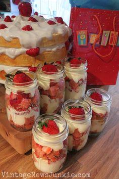 'Easy Peasy' Mason Jar Dessert