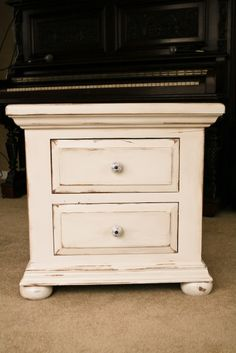 nightstand makeover how to - love this style