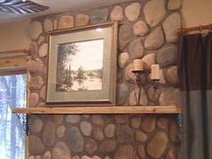 Build A Floating Mantel