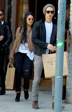 Vanessa Hudgens (and Austin Butler)