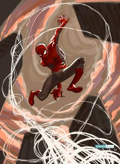 Spiderman by Juarez Ricci
