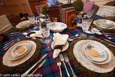 Scottish Wedding and the Use of Texture and Color!