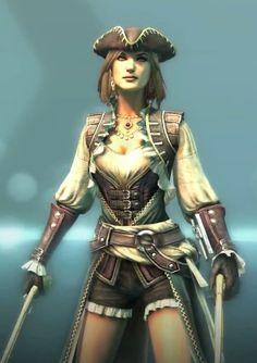 Lady Black Assassin's Creed Black Flag Multiplayer