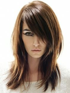 i like the cut but maybe a little more fullness in the bangs @Amber Caudle i think this would be cute for your hair