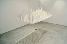 Floating City Paper Sculpture by Katsumi Hayakawa | Spoon & Tamago