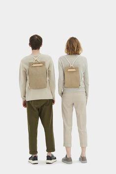 Pocket Bag Medium Raw Natural