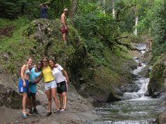 Fiji- The natural water slides.