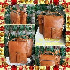 Cross Body Leather Bag by YE Rhinos