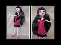 "Очаровательное платье ""Розовая мечта"" для Монстры Хай. Dress ""Pink dream"" for Monster High. - YouTube"