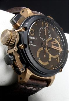 U-Boat U-51 Bronze 6496 Watch - Watchismo is an Authorized U-Boat Dealer
