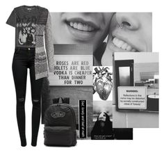 """""""So What If You Can See the Darkest Side of Me?"""" by katielynnr ❤ liked on Polyvore featuring Vous Etes, Aéropostale, J Brand, maurices and Vans"""