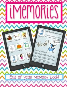 iRemember, an iMemory book for the end of the school year! from Rulin' the Roost on TeachersNotebook.com (35 pages)