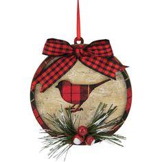 Bird Christmas Ornaments, Christmas Art, Christmas Projects, Christmas Decorations, Cardinal Ornaments, Christmas Central, Holiday Crafts, Holiday Decor, Country Christmas Crafts