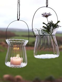 Wavy Hanging Tealight, £9.95 for a pair