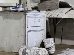 Apartment Made Strictly out of Carton