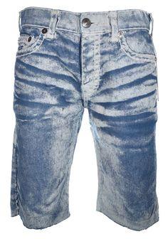 True Religion Mens Painted Ricky Relaxed Straight Shorts Size 36 NWT $219 #TrueReligion #Denim