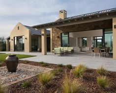 Stunning Contemporary Hillside House Designs: Modern Landscape Garden Contemporary Terrace Contemporary Hillside Home