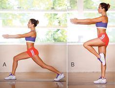 5 melhores exercícios para coxas e bumbum Pilates Workout, Butt Workout, Hiit, Gym Workouts, At Home Workouts, Ser Fitness, Health Fitness, At Home Workout Plan, Zumba
